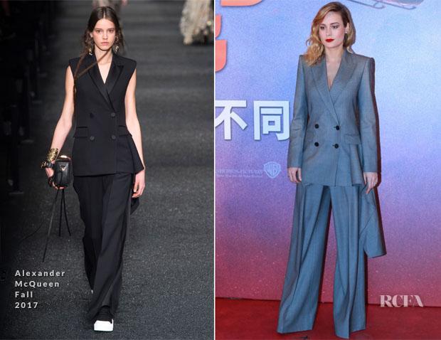 Brie Larson stuns at Kong press conference in China