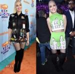 Gwen Stefani In Libertine & Jeremy Scott -  Nickelodeon's 2017 Kids' Choice Awards