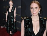 Jessica Chastain In Alexander McQueen - 'The Zookeeper's Wife' LA Premiere
