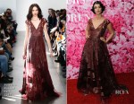 Crystal Renn In Pamella Roland - New Yorkers for Children's A Fool's Fete: Enchanted Garden