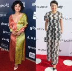 Kiersey Clemons In Diane von Furstenberg - 2017 GLAAD Media Awards & Daily Front Row's 3rd Annual Fashion Los Angeles Awards