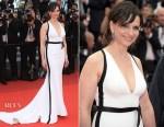Juliette Binoche In DAN Couture - 'L'Amant Double (Amant Double)'Cannes Film Festival Premiere