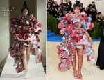 Rihanna In Comme des Garçons - 2017 Met Gala