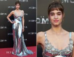 Sofia Boutella In Miu Miu - The Mummy Madrid Premiere