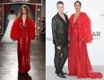 Tracee Ellis Ross In Jenny Packham - 2017 amfAR Gala Cannes