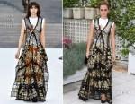 Emma Watson In Louis Vuitton - 'The Circle' Paris Photocall