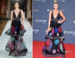Malin Akerman In Yanina Couture - Monte Carlo TV Festival Closing Ceremony