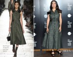 Salma Hayek In Bottega Veneta - Sundance London Filmmaker And Press Breakfast