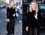 Kirsten Dunst In Christian Dior - Vogue Paris Foundation Dinner