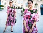 Sonam Kapoor is Instaglam in Dolce & Gabbana