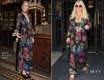 Jessica Simpson takes the plunge in Gucci florals