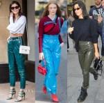 Celebrities Love...Vinyl Trousers
