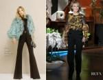 Jane Fonda In Sophie Theallet & Elie Saab - The Ellen DeGeneres Show