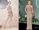 Jennifer Lawrence In Atelier Versace -'Mother!' London Premiere