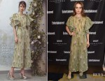 Kaitlyn Dever In Luisa Beccaria - Entertainment Weekly's Must List Party
