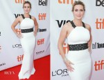 Kate Winslet In Badgley Mischka - The Mountain Between Us' Toronto Film Festival Premiere