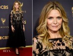 Michelle Pfeiffer In Oscar de la Renta - 2017 Emmy Awards