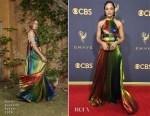 Tessa Thompson In Rosie Assoulin - 2017 Emmy Awards