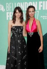 Stacy Martin in Erdem and Berenice Bejo in Gucci