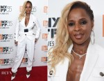 Mary J. Blige In Michael Kors Collection - 'Mudbound' New York Screening