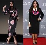 Salma Hayek In Ganni & Gucci -  SCAD Savannah Film Festival