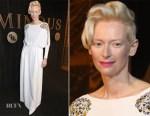Tilda Swinton In Schiaparelli - BFI Luminous Fundraising Gala