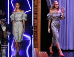 Allison Williams In Emanuel Ungaro - The Tonight Show Starring Jimmy Fallon