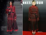 Haley Bennett In Alexander McQueen - 'Darkest Hour'  LA Premiere