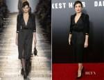 Kristin Scott Thomas In Bottega Veneta - 'Darkest Hour' New York Premiere
