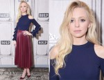 Portia Doubleday In Jonathan Simkhai - AOL's Build Series
