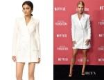 Sofia Richie's Rachel Zoe Tuxedo Dress