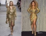 Beyonce Knowles is Instaglam in Michael Kors Collection, Gucci &  Balenciaga