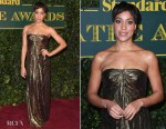 Cush Jumbo In Michael Kors Collection - London Evening Standard Theatre Awards