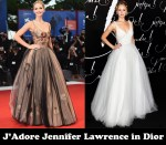 J'Adore Jennifer Lawrence in Dior