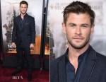 Chris Hemsworth In John Varvatos - '12 Strong' World Premiere