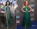 Jessica Chastain In Vionnet - 2018 Critics' Choice Awards