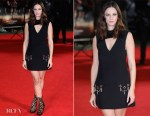 Kaya Scodelario In Louis Vuitton - 'Maze Runner: The Death Cure' London Premiere