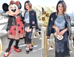 Lucy Hale In Coach - Lunch Celebrating Minnie's Star on the Hollywood Walk of Fame