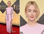Saoirse Ronan In Louis Vuitton - 2018 SAG Awards