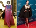 Anya Taylor-Joy In Gucci - Newport Beach Film Festival Annual UK Honours