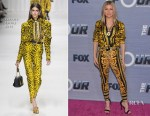 Fergie In Versace - Season Finale Viewing Party For FOX's 'The Four'