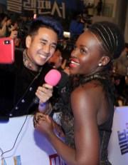Lupita Nyong'o in Ralph & Russo Lupita Nyongo