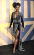 Lupita Nyong'o In Balmain - 'Black Panther' London Premiere