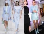 Gigi Hadid In Versace -  GIGI x MAYBELLINE Toyko Event