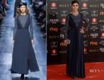 Maribel Verdu In Christian Dior - 2018 Goya Awards