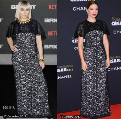 Who Wore it Better? Noomi Rapace Vs Lea Seydoux
