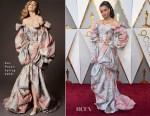 Andra Day In Zac Posen - 2018 Oscars