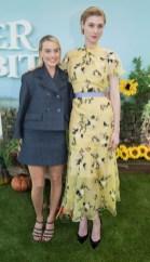 Margot Robbie In Chanel and Elizabeth Debicki In Erdem - 'Peter Rabbit' Sydney Premiere