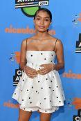 Yara Shahidi In Rasario - Nickelodeon's 2018 Kids' Choice Awards