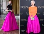 Helen Mirren In Escada & Sachin & Babi - L'Oreal Paris Canadian Women of Worth Awards Gala